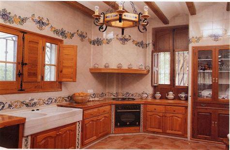 Creaciones cocinas azulejo for Azulejos para cocina mexico