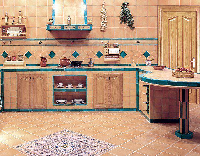 Creaciones cocinas azulejo for Azulejos para cocina 2016