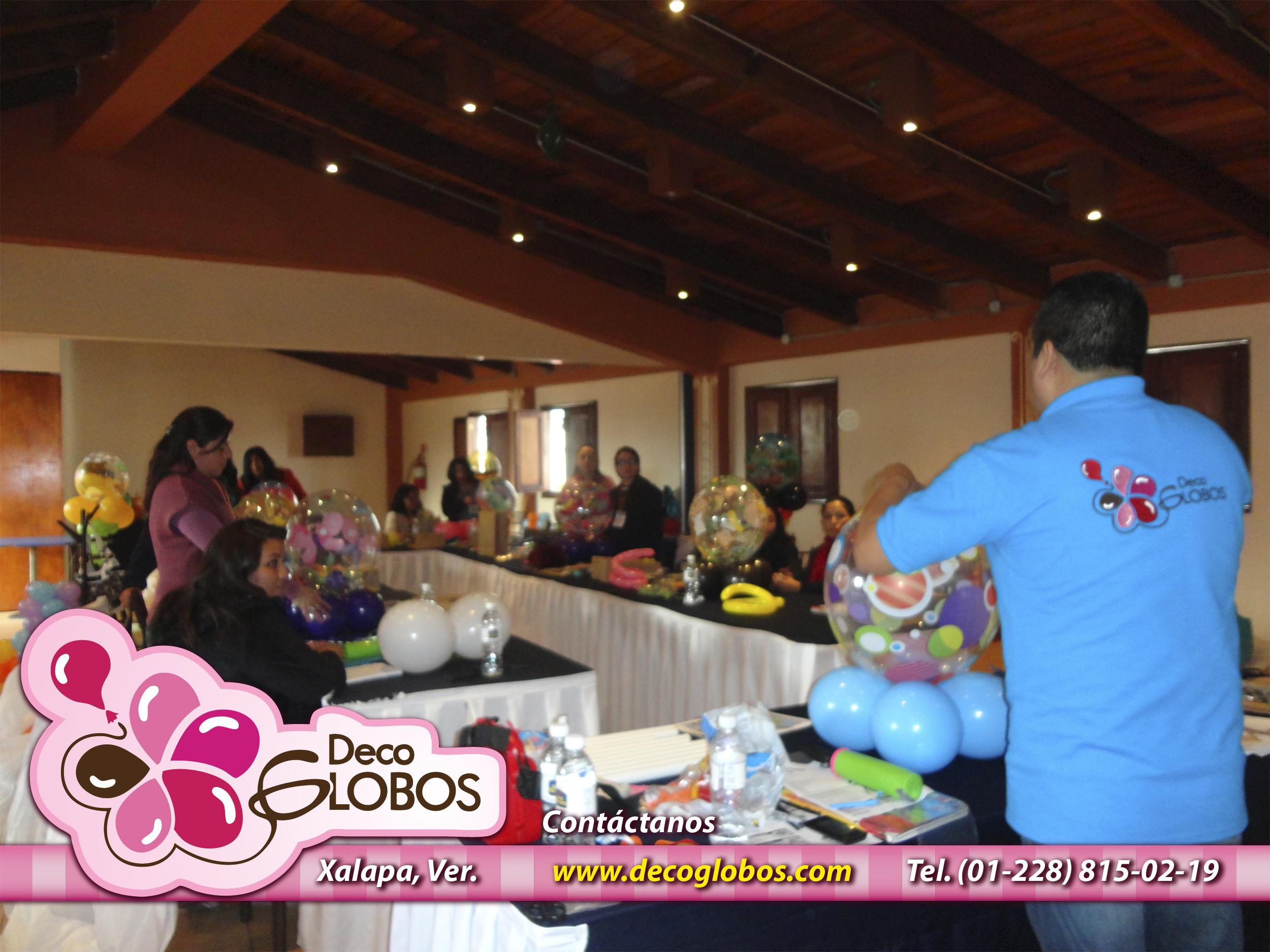 Curso Decoración Con Globos En Xalapa Veracruz 18 Y 19 De Julio De 2015