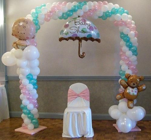 similiar arcos de globos para baby shower keywords