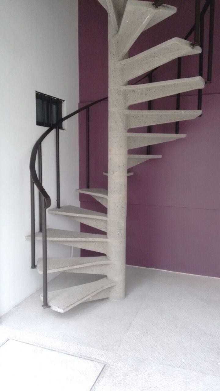 Escaleras tipo caracol - Tipo de escaleras ...