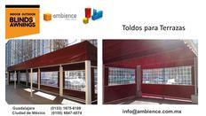 Expertos en Confeccion Instalacion de Toldos inteligentes en Zapopan Jalisco Mexico