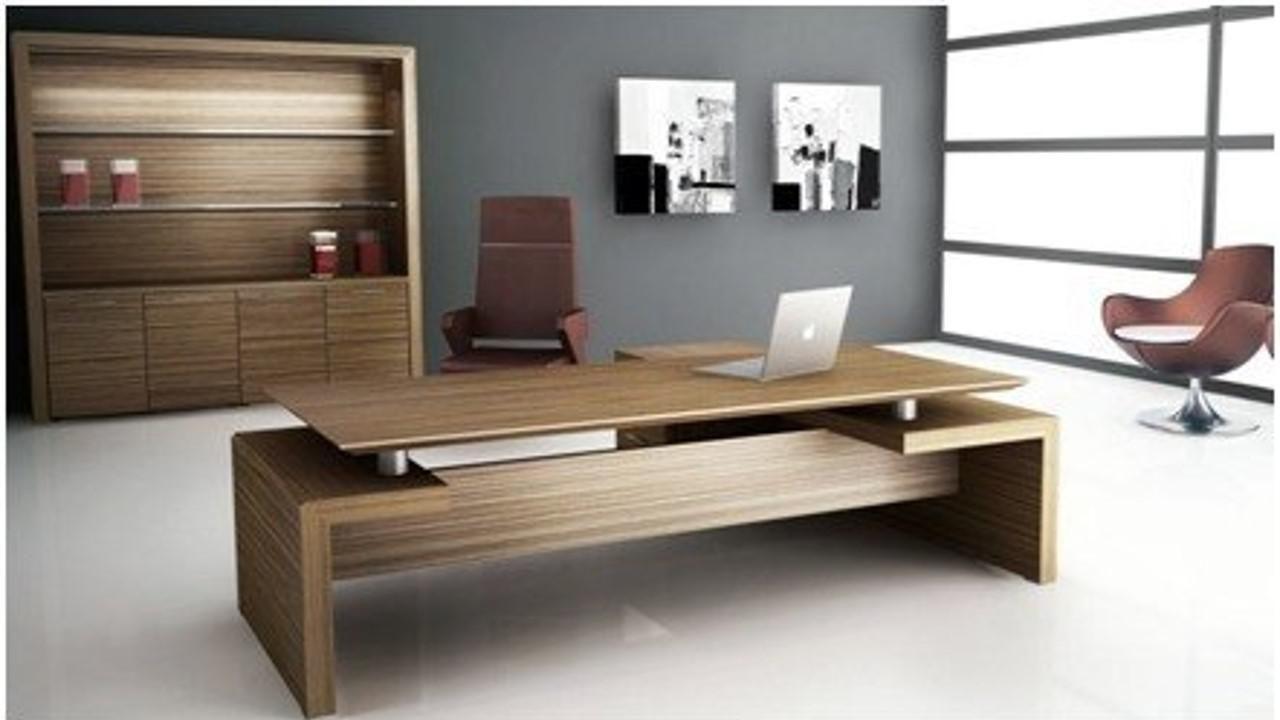Escritorios modernos e formas de agregar un pizarrn a tu for Muebles de escritorio precios
