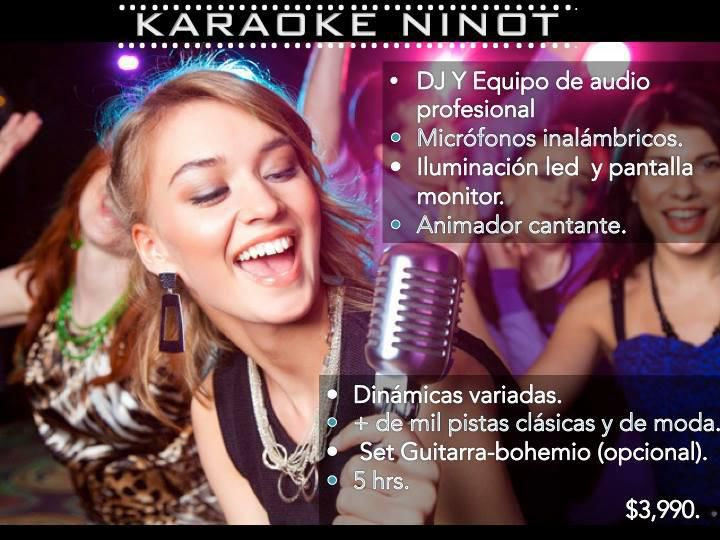Karaoke para fiestas karaoke para eventos canta bar a domicilio renta de karaoke karaoke en - Karaoke en casa ...