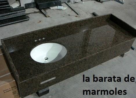 Lavabo cubierta en granito negro san gabriel el precio es for Precio metro lineal encimera granito