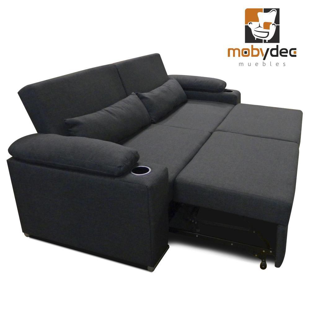 Muebles fabrica de muebles mobydec sofa cama salas for Sofa para sala de tv