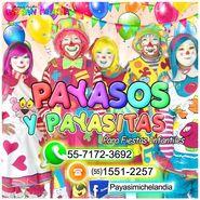 PAYASOS PARA FIESTAS INFANTILES en CHALCO - ✆ 55-7172-3692