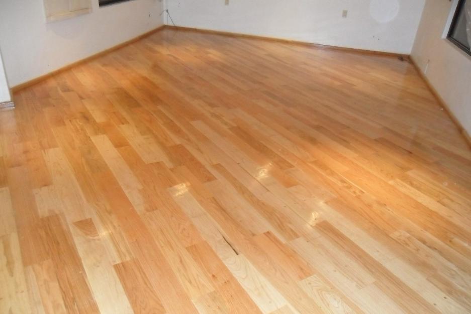 Piso de madera duela en encino americano 680 por m2 for Precio colocacion parquet m2