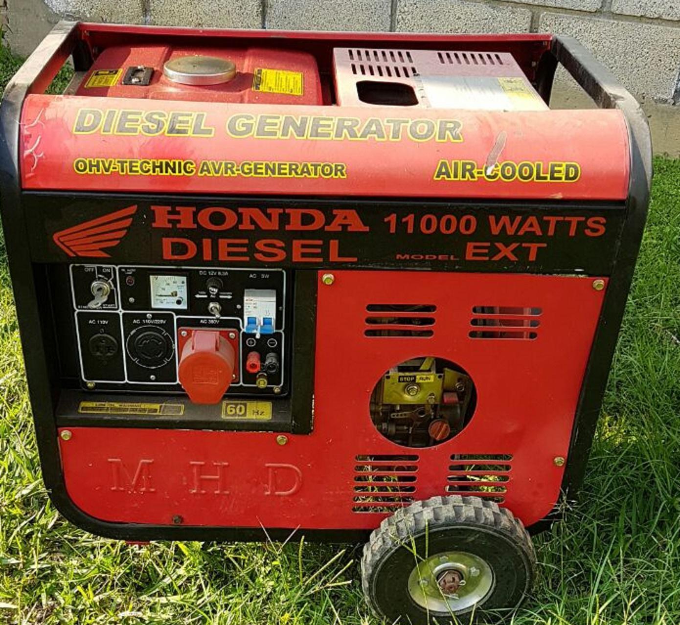 Planta De Luz Honda 11000 Watts Anunciosgratis Mx # Muebles Luz Tecamac