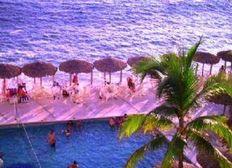 Playa, Vista al Mar y Alberca Departamento en Acapulco