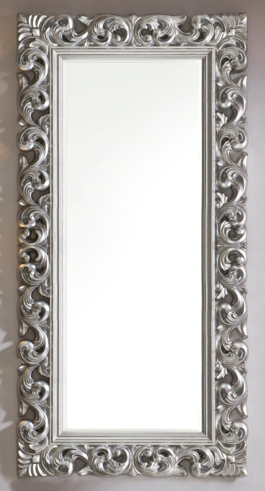 Marcos de espejos vinilo decorativo marco de espejo for Espejos para pared grandes sin marco