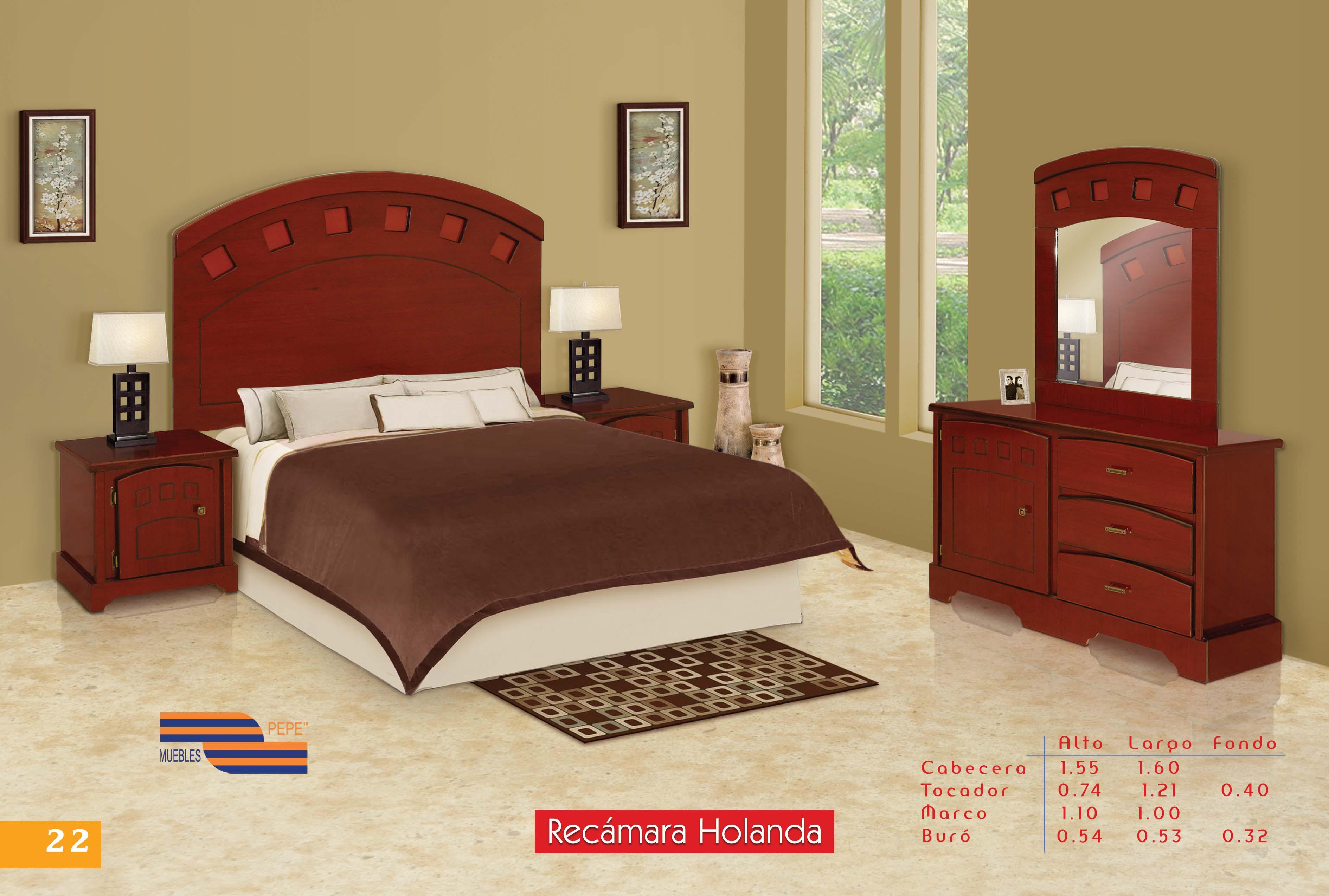 Muebles troncoso recamaras matrimoniales 20170714002103 for Recamaras de madera en monterrey