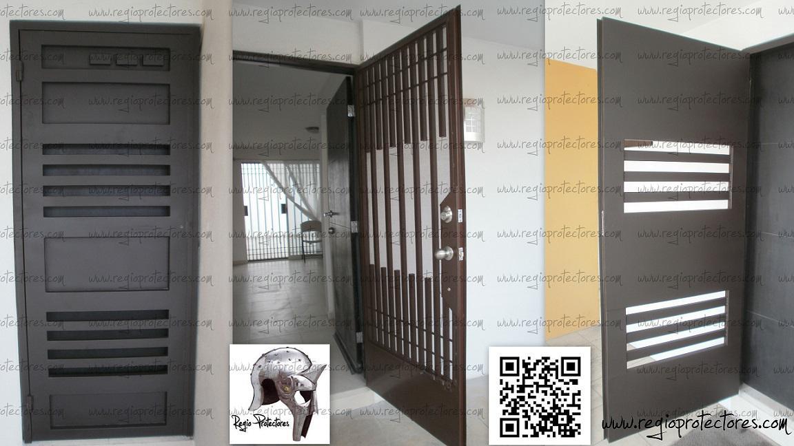 Regio protectores reja para puerta principal i for Puertas de reja