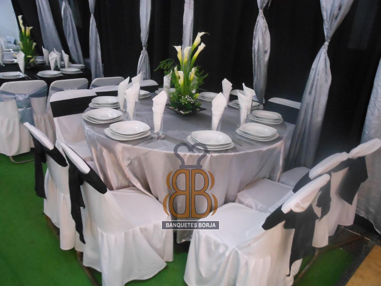 Decoraciones de la boda Renta