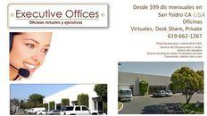 Renta de Oficinas en San Ysidro CA a 5 min de la Garita