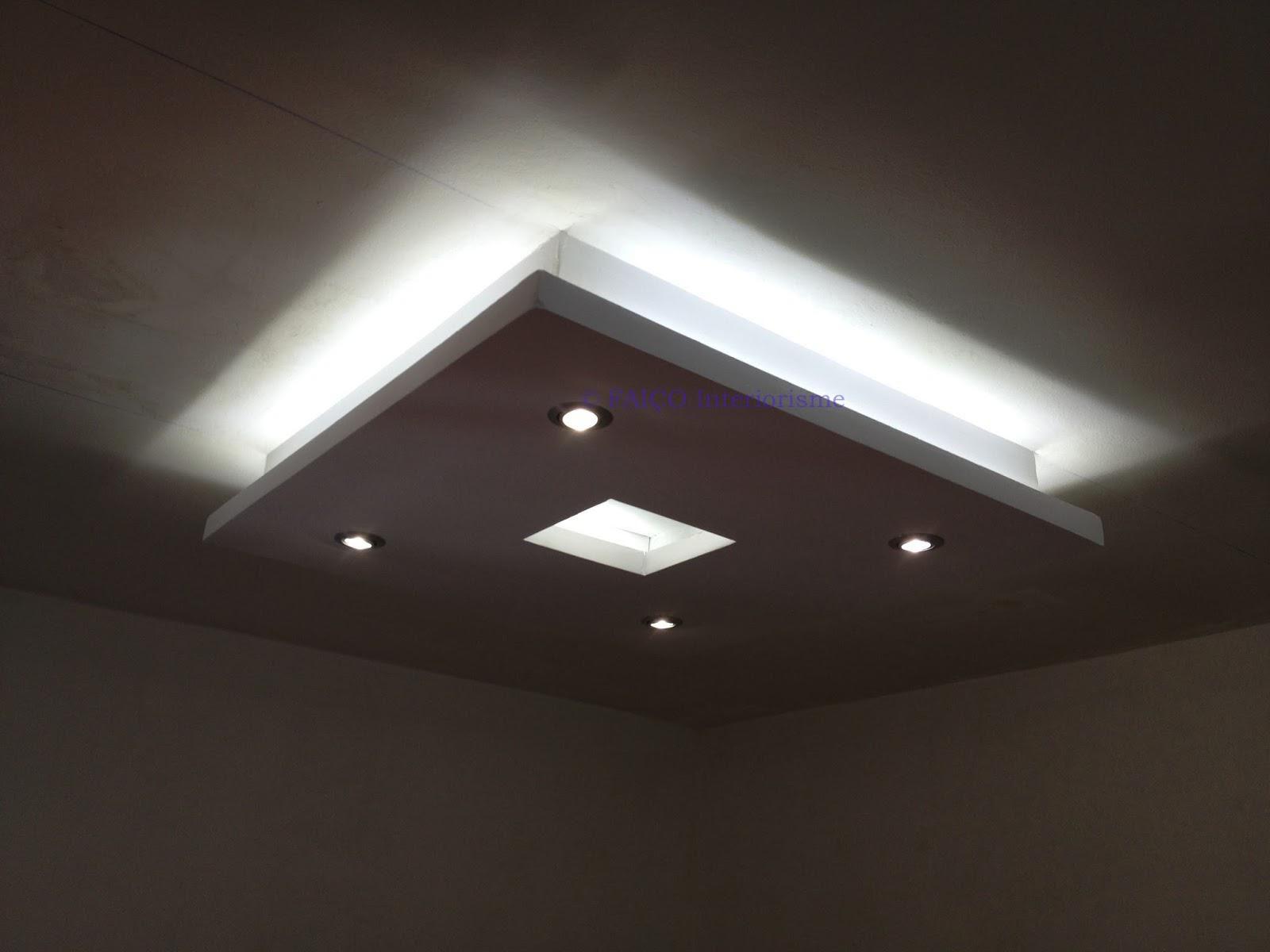 Luz indirecta led luz indirecta en pasillos luz - Luz led casa ...