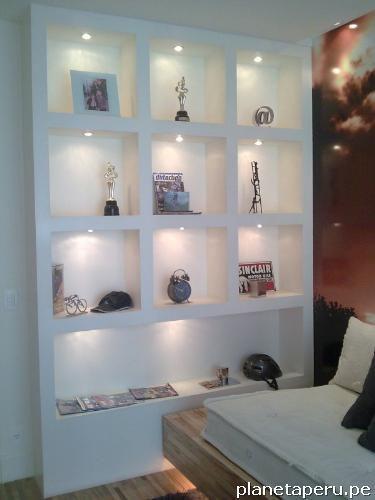 Como hacer un mueble para tv de tablaroca for Mueble recepcion ikea