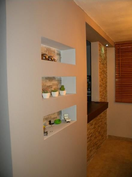 Tablaroca closets y detalles - Paredes decorativas interiores ...
