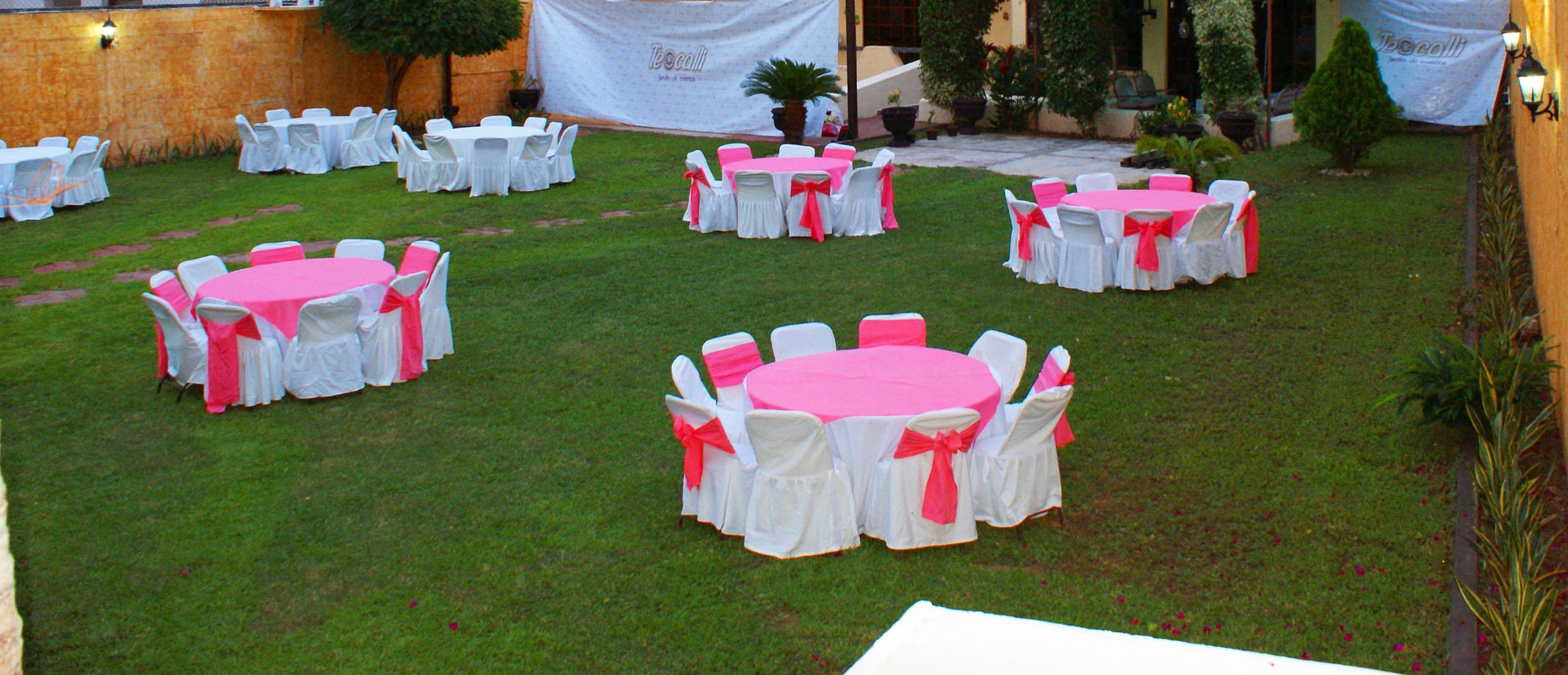 Teocalli jardin de eventos for Fiestas en jardin