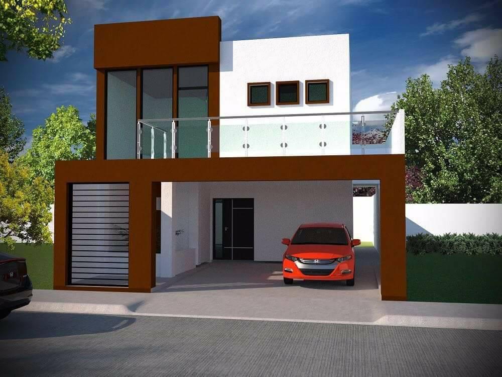 Vendo casa grande con terreno en el fracc moderno for Casa minimalista grande