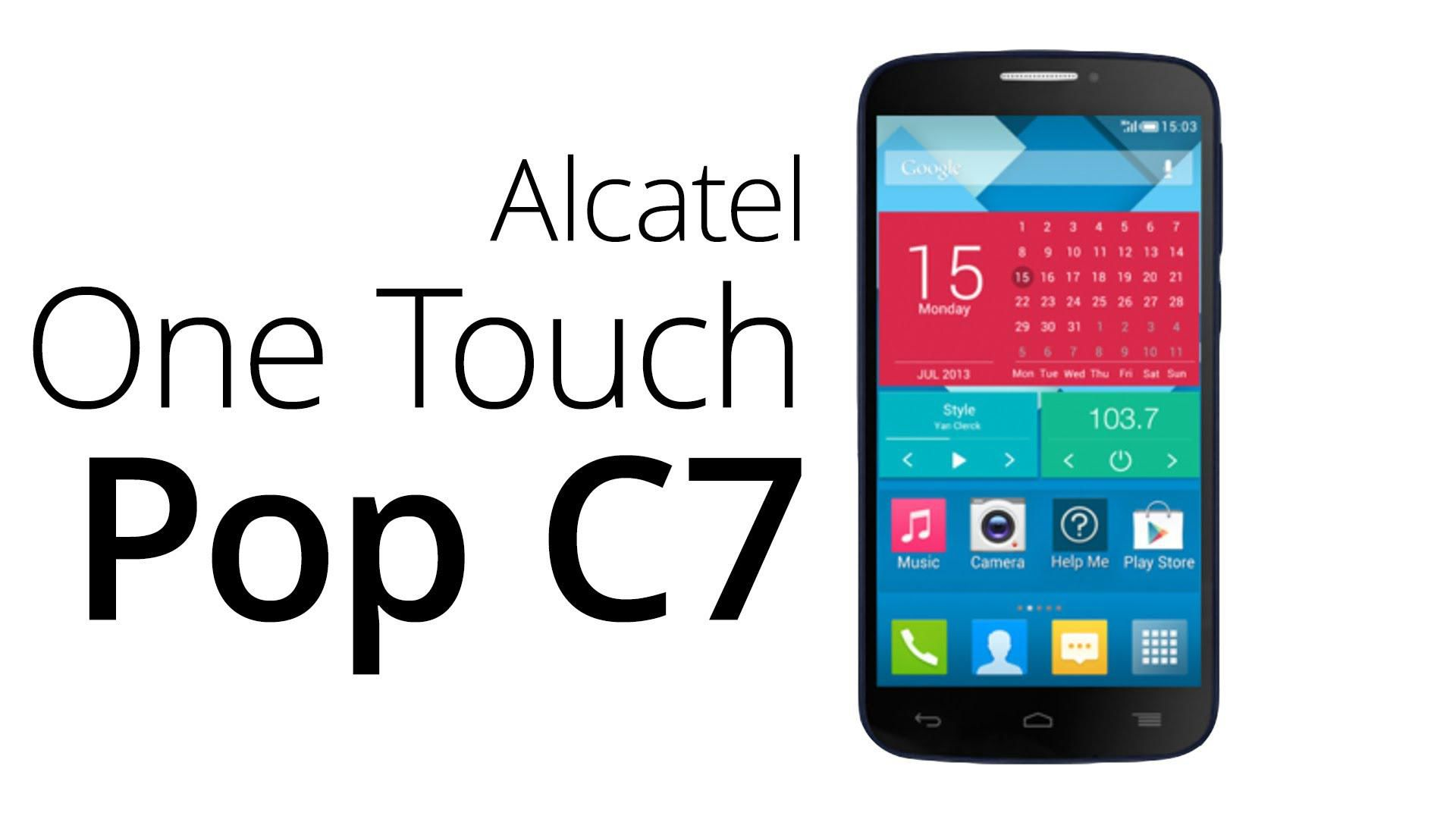 f1db3da4ef4 Oferta: Vendo Celular Alcatel C7 POP Negro, Nuevo, Sellado, Telcel ...
