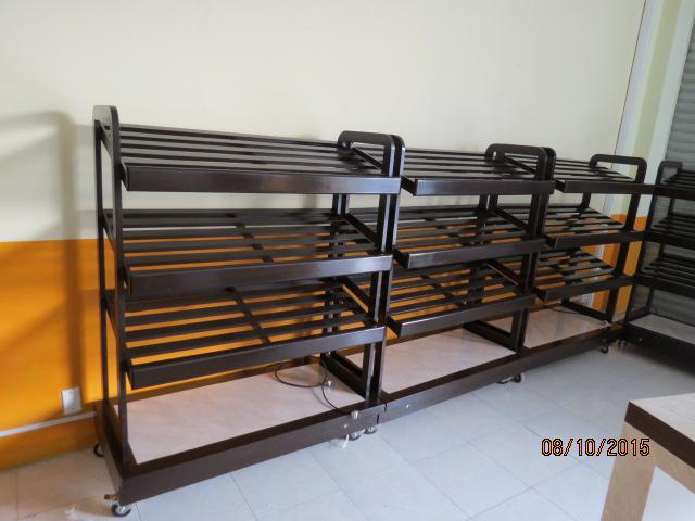 Muebles para frutas son pan de madera estante de - Muebles para frutas ...