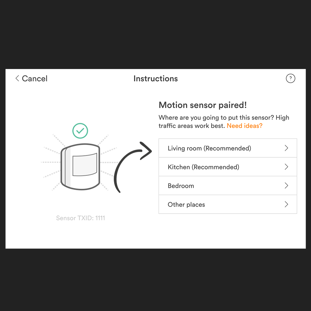 Motion Detector Pir2 Installation Guide