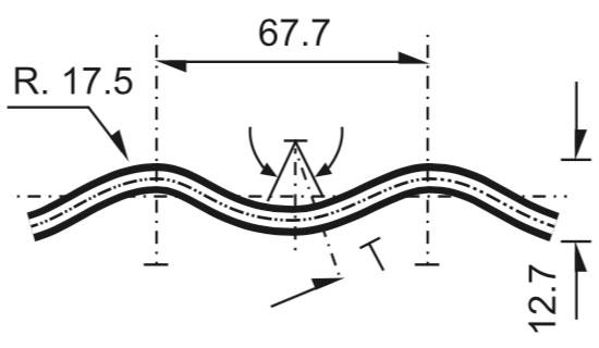 Alcantarilla Anidable Circular Atornillable