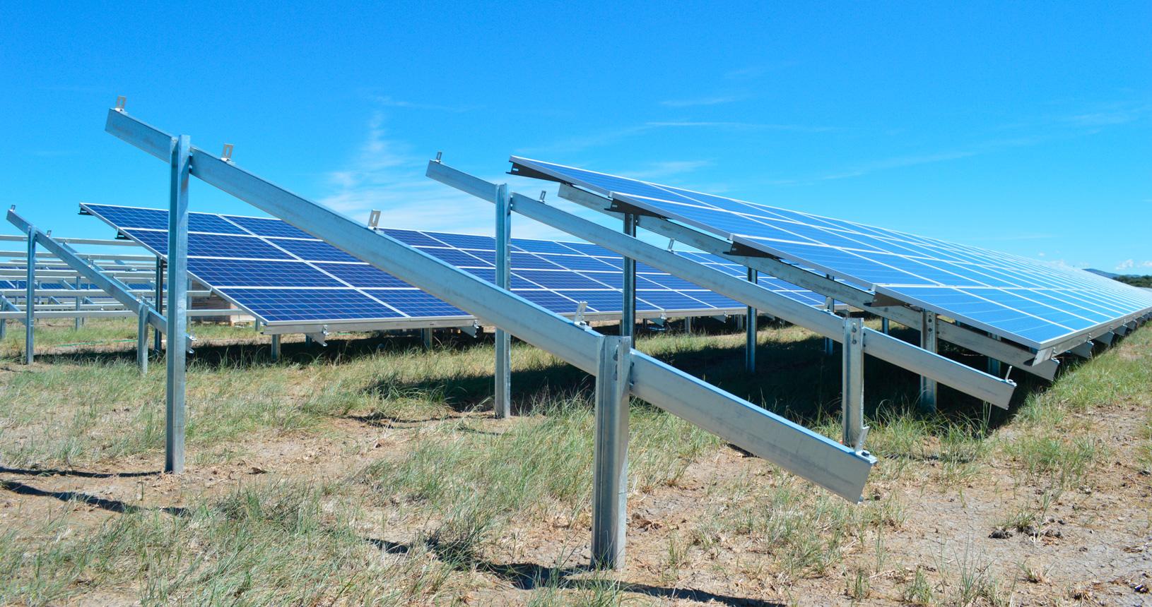 Hinchadora de Poste Fotovoltaico
