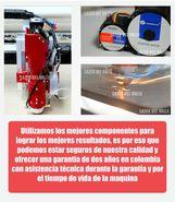 Laser CO2 para corte de aceros en Medellín