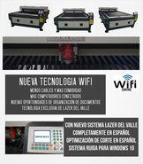 Maquina laser para corte de metales 130x250/150w en Bucaramanga