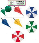 Paraguas y sombrillas desde $3500 FACOMERCIALIZADORA Cel 315-3369201