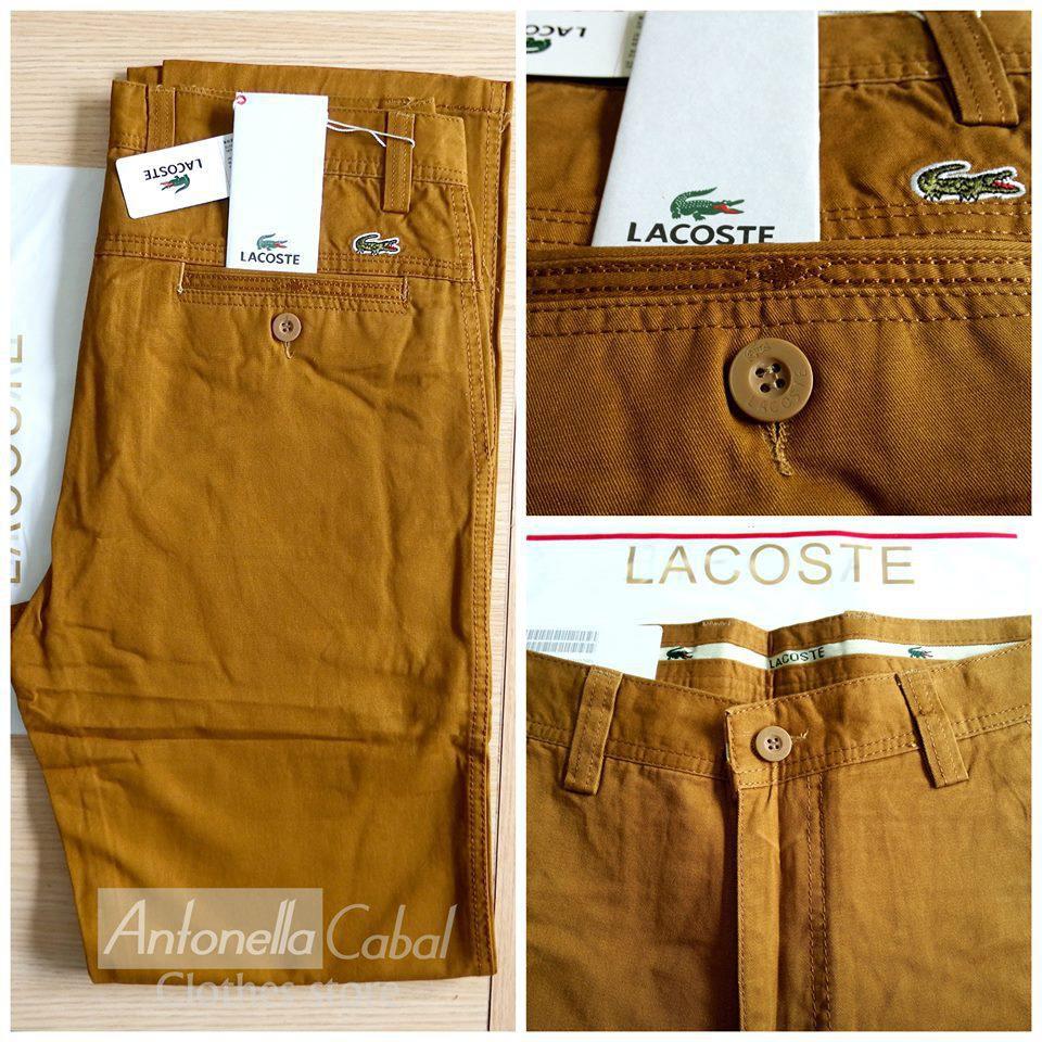 8b8fb751d2a ... pantalones LACOSTE
