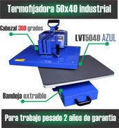 vendo en bello estampadora industrial 50x40 extraible