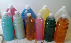 Materia Prima y Productos de limpieza elaborados