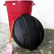 Pipote plástico de 85 lts para basura, marca Manaplas. Matamoscas de obsequio. Entrega a domicilio en el estado Trujillo