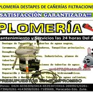 Servicio de Plomería Realizamos Evaluó Gratis Zulia