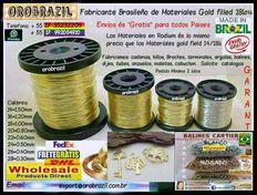 Alambre de gold filled 18k para hacer Bisuterias –