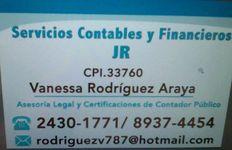 SERVICIOS CONTABLES Y FINANCIEROS JR
