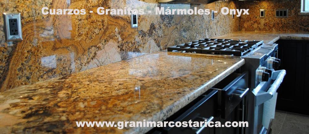 Sobres de granito m rmol cuarzo y onyx desde los 150 for Precio de granito por metro