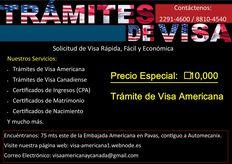 TRAMITES DE VISA