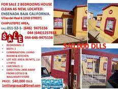 2 beds house sale ensenada baja california for retired people in the uss call now