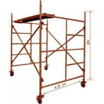 Renta andamios de 1 a 5 cuerpos torre de 10 mts con for Alquiler de andamios precios