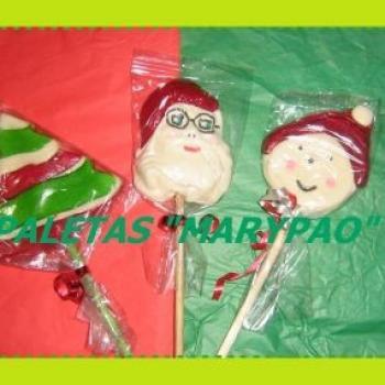 Deliciosas Gomitas Para Navidad Paletas De Bombon Galletas