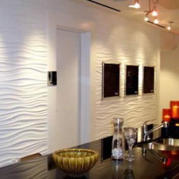 Acabados finos residenciales pastas paladio pintura - Muros decorativos para interiores ...