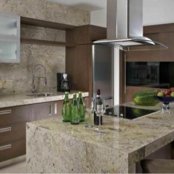 Granito natural para cocinas for Cocinas de granito natural