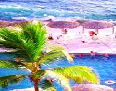 A pié de PLAYA Bonito Departamento en Acapulco Vista al Mar y Albercas