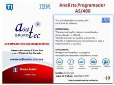 Analista Programador iSeries RPG/400