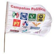 BANDERAS PARA CAMPAÑAS POLITICAS EN SINALOA