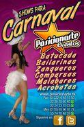 Batucada, zanqueros, bailarinas: Shows para Carnaval
